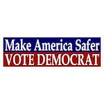 Make America Safer: Vote Democrat