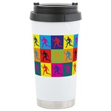 Cute Funny tennis Stainless Steel Travel Mug