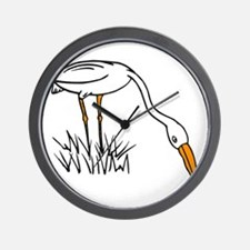 egret Wall Clock
