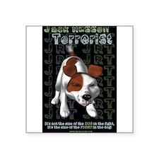 """Unique Jack russel terriers Square Sticker 3"""" x 3"""""""