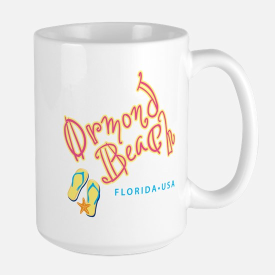Ormond Beach - Large Mug