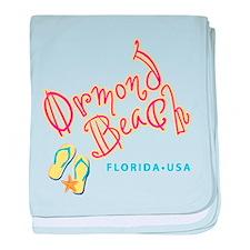 Ormond Beach - baby blanket