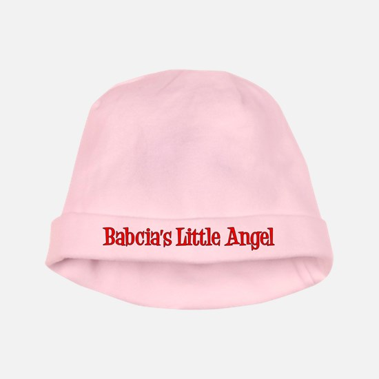 Babcia's Little Angel Baby Hat