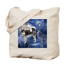 Husky Dream Tote Bag