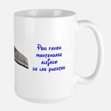 Monorail Large Mug