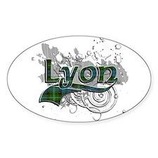 Lyon Tartan Grunge Decal