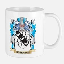 Hibberson Coat of Arms - Family Crest Mugs