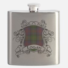 Logan Tartan Shield Flask