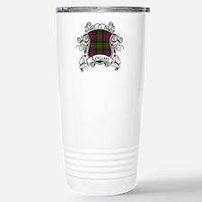 Logan Tartan Shield Stainless Steel Travel Mug