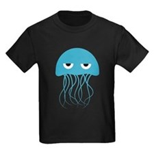 Angry Blue Jellyfish T-Shirt