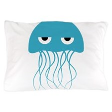 Cute Jellyfish Pillow Case
