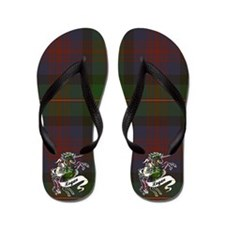 Logan Unicorn Flip Flops