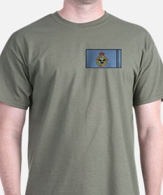 RAF Pilot Officer<BR> Green T-Shirt