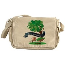 Racetorecycle Messenger Bag