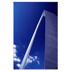 Gateway Arch, Close Up; St Louis, Mississippi Poster