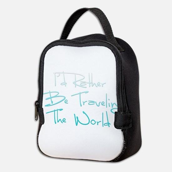 Cute Travel Neoprene Lunch Bag