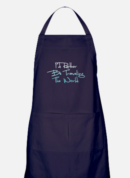 Cute Travel Apron (dark)