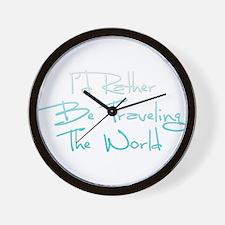Unique Travel Wall Clock