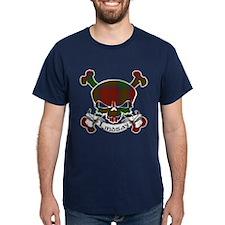 Lindsay Tartan Skull T-Shirt
