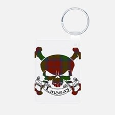Lindsay Tartan Skull Keychains