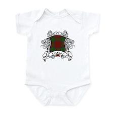 Lindsay Tartan Shield Infant Bodysuit