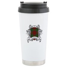 Lindsay Tartan Shield Travel Mug