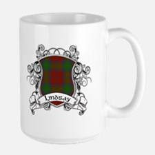 Lindsay Tartan Shield Ceramic Mugs