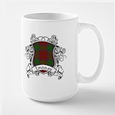 Lindsay Tartan Shield Mug