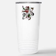 Lindsay Tartan Lion Travel Mug