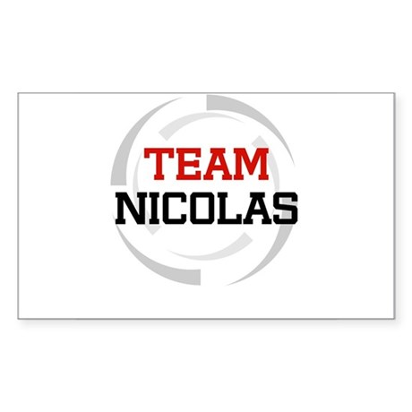 Nicolas Rectangle Sticker