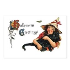 Happy Halloween Card with Postcards (Package of 8)