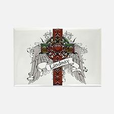 Lindsay Tartan Cross Rectangle Magnet