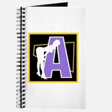 Naughty Initial Design (A) Journal