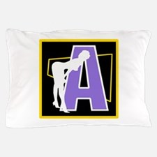 Naughty Initial Design (A) Pillow Case