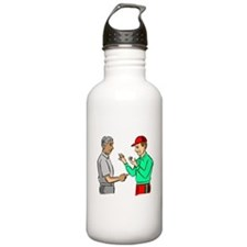 Baseball Umpire And Manager Water Bottle