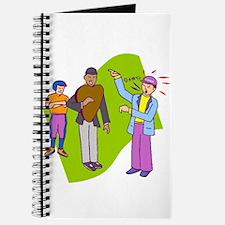 Baseball Coach Arguing With Ump Journal