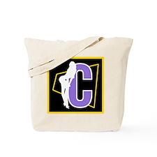 Naughty Initial Design (C) Tote Bag