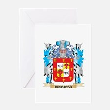 Hinojosa Coat of Arms - Family Crest Greeting Card
