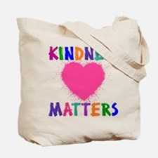 KINDNESS MATTERS (2-sided) Tote Bag