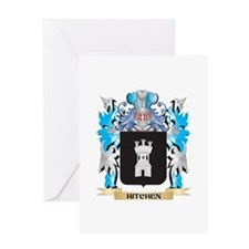 Hitchen Coat of Arms - Family Crest Greeting Cards
