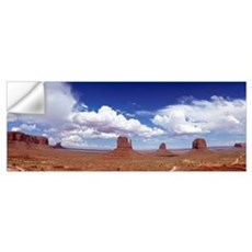 Glove Buttes And Clouds, Monument Valley, Utah Wall Decal