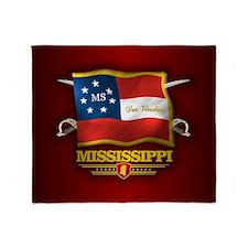 Mississippi DV Throw Blanket