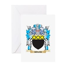 Hogan Coat of Arms - Family Crest Greeting Cards