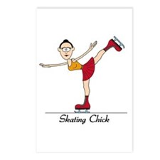Skating Chick Postcards (Package of 8)