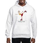 Skating Chick Hooded Sweatshirt