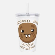 Gluten free Cookie monster cute brown biscuit Acry