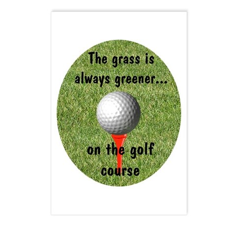 Golf lover Postcards (Package of 8)