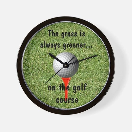 Golf lover Wall Clock