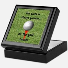 Golf lover Keepsake Box