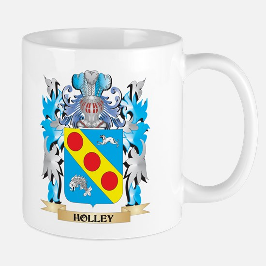 Holley Coat of Arms - Family Crest Mugs